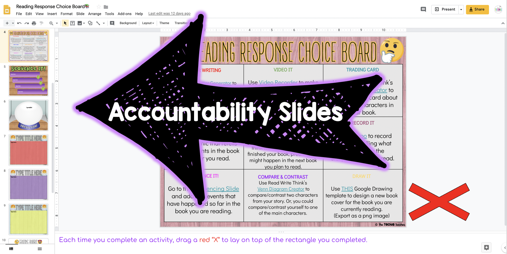 Do you have questions about how to use Digital Choice Boards in Google Slides? Come learn more about digital choice menus, how to assign them and why they are so great for differentiation!